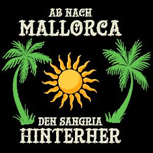 Ab nach Mallorca den Sangria hinterher Geschenk