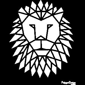 """Geometric lion"" urban street style fashion animal"