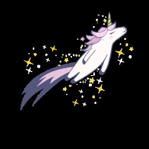 Weltraum-Einhorn