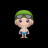 Schwimmen Kind