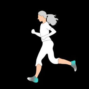 Shirt Design Sport Senioren Joggen
