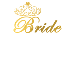 Bride Junggesellinenabschied mit Krone