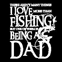 Ich liebe Fischen - Fischer-Männer entwerfen Geschenk für Vati