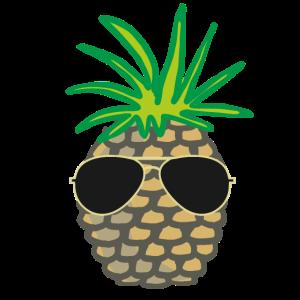 Ananas-Sonnenbrille