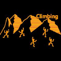 Climbing, Alpen, Bergsteiger