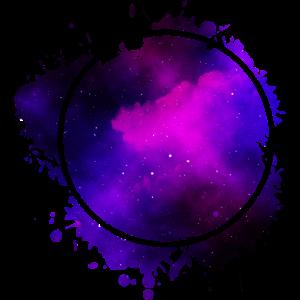 circle blue purple - Kreis Blau Lila