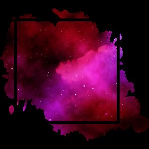 square Quadrat purple lila