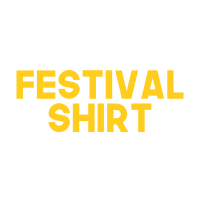 This is my Festival Shirt - I know it stinks