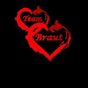 Team Braut - Junggesellinnenabschied Party