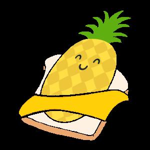 Ananas Toast Hawaii