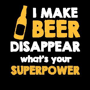Beer – Bier - Superpower - Shirt