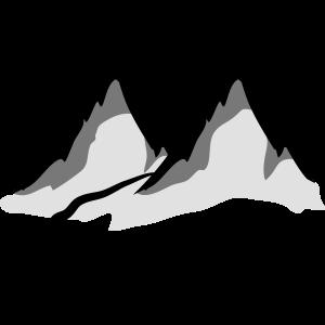 Schöne Berge Wanderweg