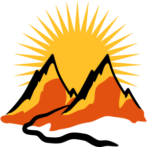 Schöne Berge Wanderweg Sonne