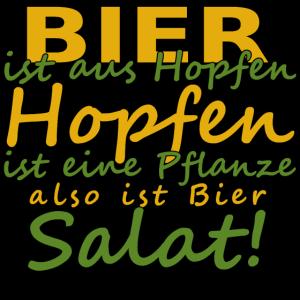 Bier ist salat