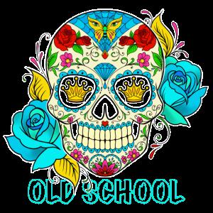 Oldschool Skull shirt