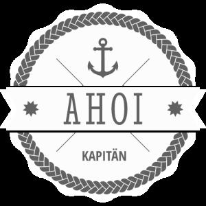 Ahoi Kapitän Badge