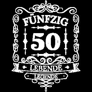 50 fünfzig 50. Geburtstag Geschenk Geschenkidee