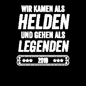 Helden und Legenden - Abschlussklasse 2019
