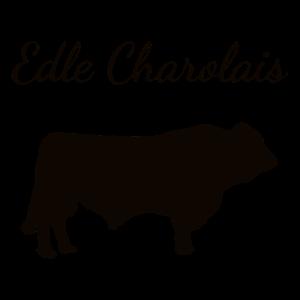 Edle Charolais Rinder-Züchter Bulle Zucht Landwirt