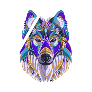 wolf kunst tier abstrakt traumfaenger traum