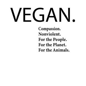 Vegan Barmherzig Gewaltlos Planet Menschen