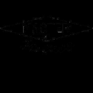 Master Science Uni Abschluss Hut Absolvent Student
