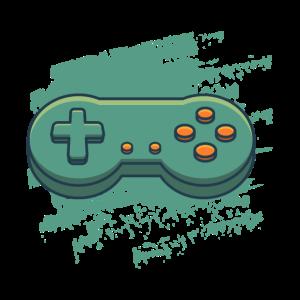 Retro Controller, geschenk gaming konsole gamer