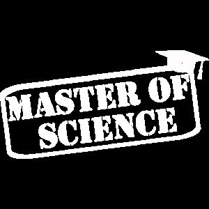 Master Science Hut Lustig Sprüche Abschluss Uni FH