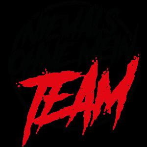 niemals ohne mein team
