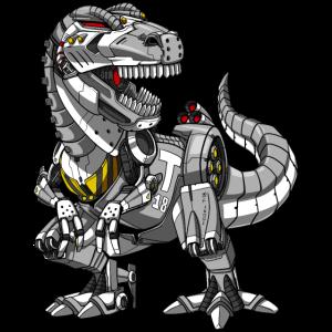 T-Rex Dinosaurier Roboter Monster