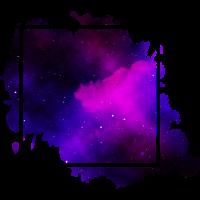 square purple - Quadrat lila