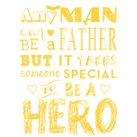 father - father´s day - hero - Vater - Papa -Shirt