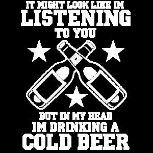 Bier Sommerfest Trinkspruch Bierflasche