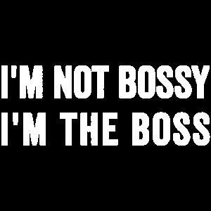 Ich bin kein Freund und bin der Boss