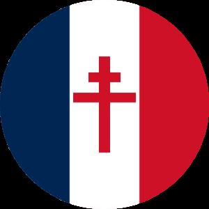 frei frankreich blason frankreich croix de Lorraine