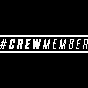 crew member hashtag