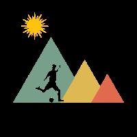 Fußball Fußballspieler Landschaft