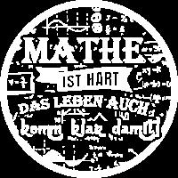 Lehrer Shirt · Mathe ist hart · Geschenk
