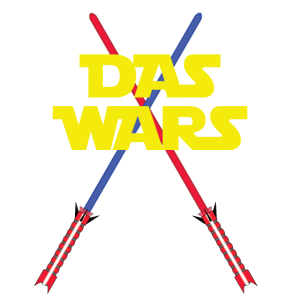 Das Wars mit Lichtschwertern
