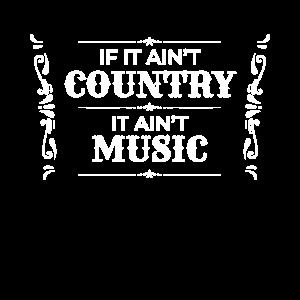 Country Music Musik Nashville USA Geschenk