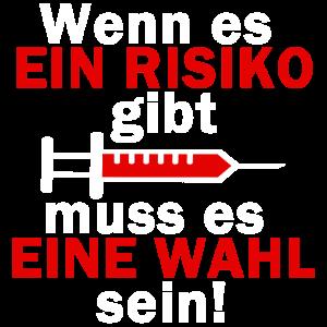 Risiko Impfen anti Impfung Masern Impfplicht Demo