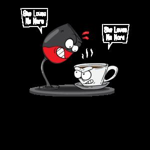 Wein Liebhaber - Kaffee Liebhaber
