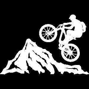 Mountainbike, Fahrrad Mountainbiker, Fahrradfahrer