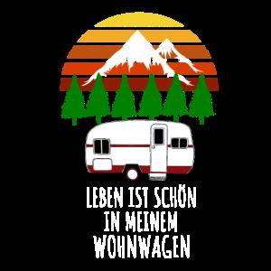 Wohnwagen Camping Geschenk