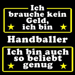 Handballer beliebt genug