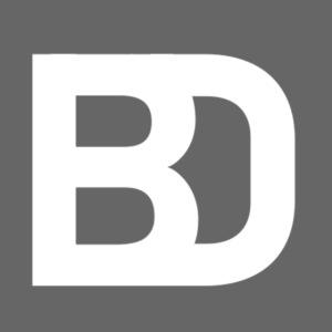 Black Damn Logo White Transparent