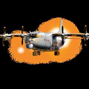 Transport Flugzeug Antonov-12