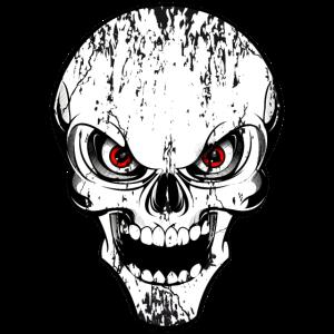 skull grunge style