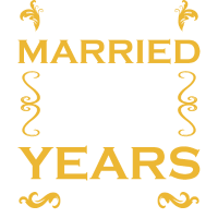 JUST MARRIED 25 YEARS AGO - Hochzeitstag - Shirt