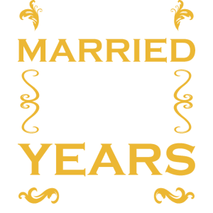 JUST MARRIED 35 YEARS AGO - Hochzeitstag - Shirt
